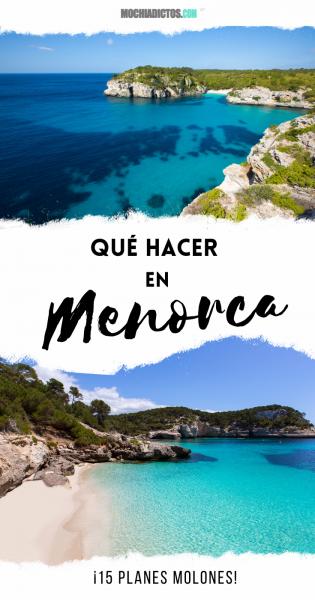 Qué hacer en Menorca, Islas Baleares