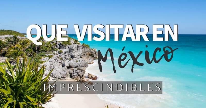 10 mejores lugares que visitar en México imperdibles en la península de Yucatán.