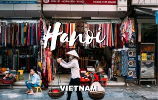 Que hacer en Hanoi, Vietnam