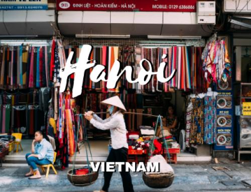 Hanoi, Vietnam. La ciudad con el caos mas bonito del mundo