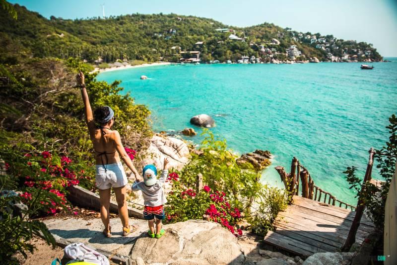 Que hacer en Koh TAo playas