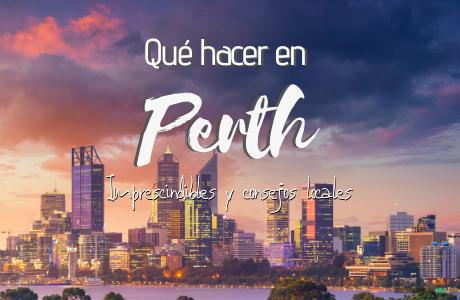 Que hacer en Perth, imprescindibles