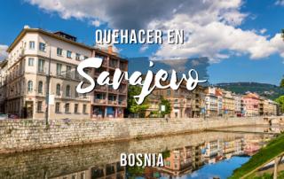 Que hacer en Sarajevo, Bosnia