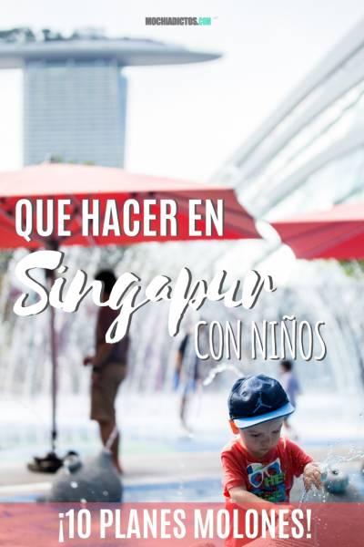 Que hacer en Singapur con niños, Pinterest.