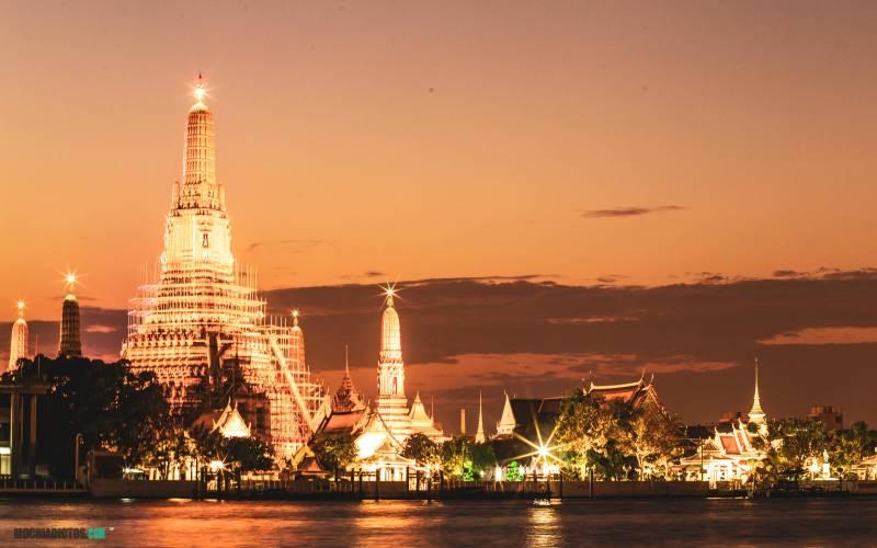 Que hacer en Tailandia, Bangkok, Wat Arun