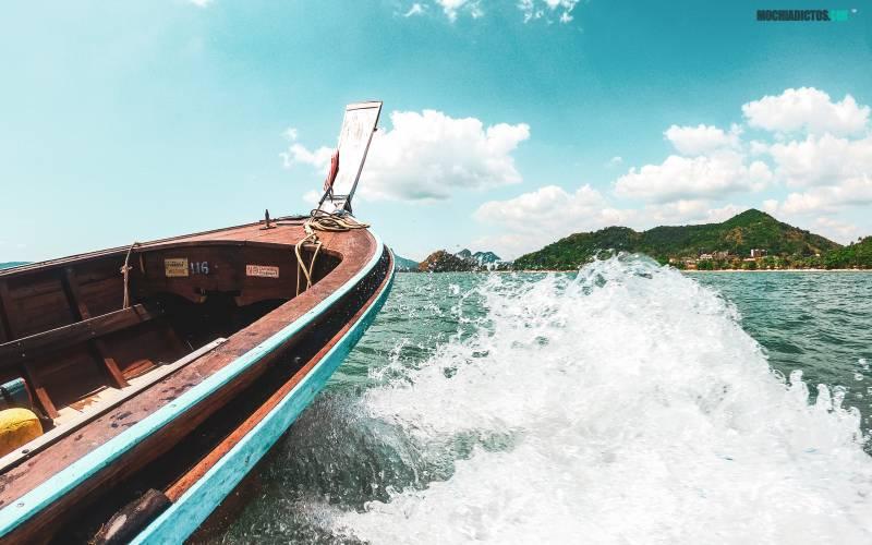 Que hacer en Tailandia, Long Tail en Ao nang