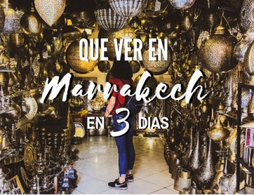 Marrakech en 3 días