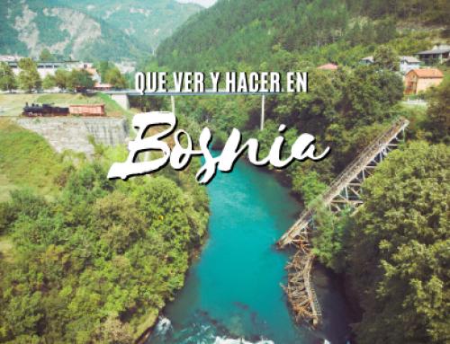 Que ver en Bosnia Imprescindibles que NO te puedes perder.