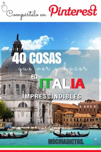 que ver en Italia