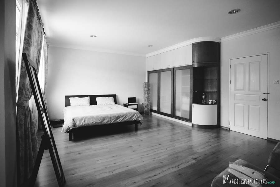 Nuestra habitación en Brunei con Airbnb