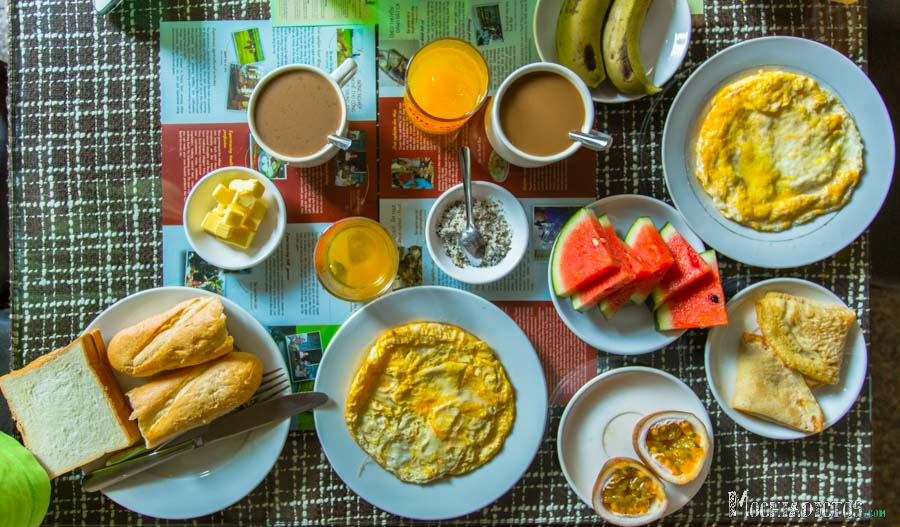 Desayuno en el Tigo Hostel por 2$