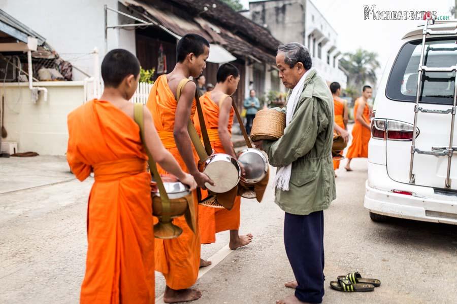 Que ver y que hacer en Luang Prabang,Laos. Mochiadictos.com