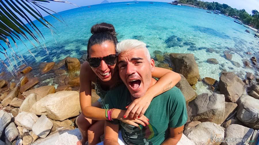 Visitar Islas Perhentian: Coral Beach