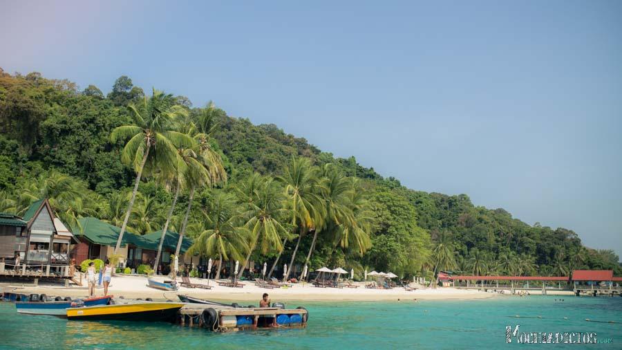 Islas perhentian. Las mejores playas de Malasia | Mochiadictos blog ...