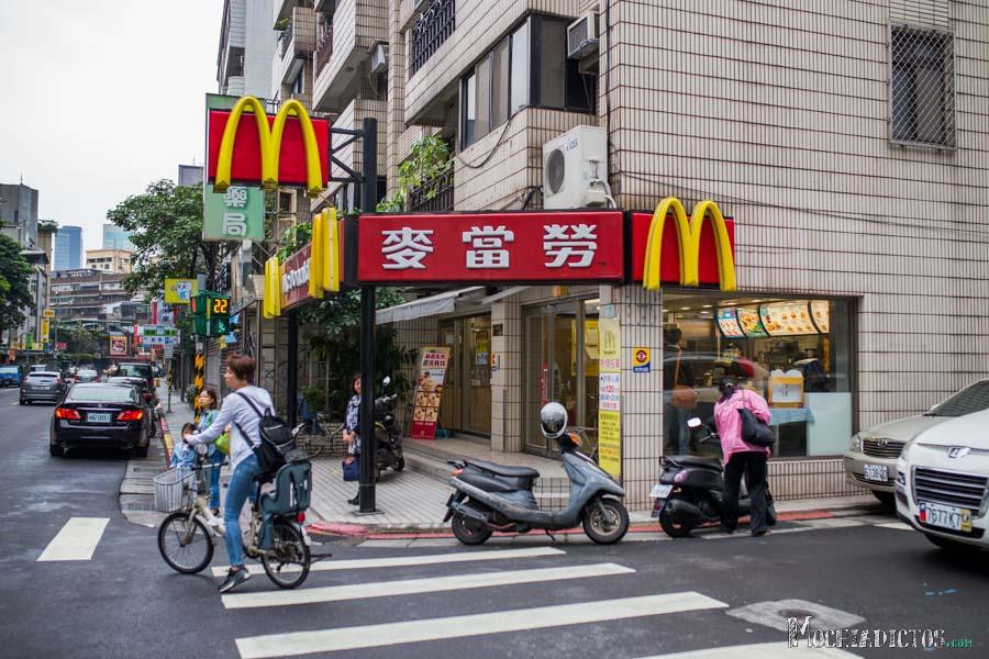Macdonals en Taiwan