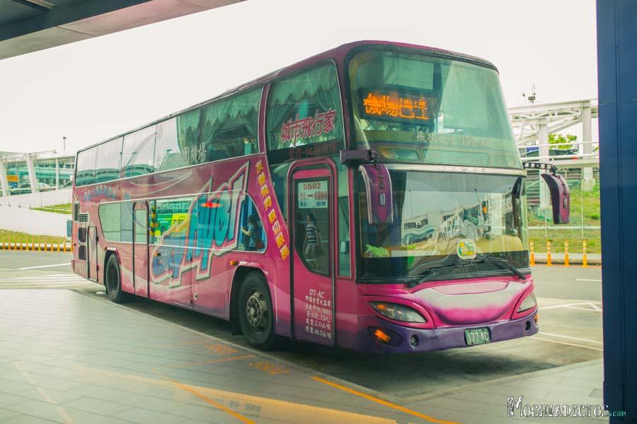 Autobús para llegar a Taipei