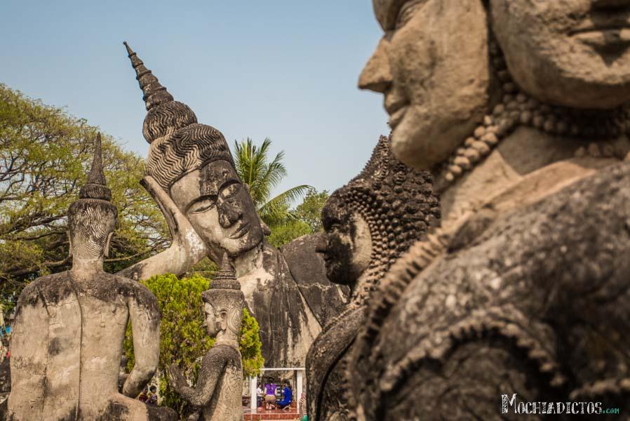 Buda Park en Vientiane