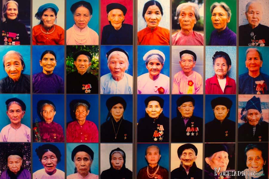 Museo de las mujeres vietnamitas. 100% recomendable. 30 dong entrada