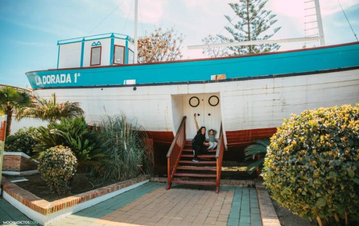 Que visitar en Nerja, Barco de Chanchete