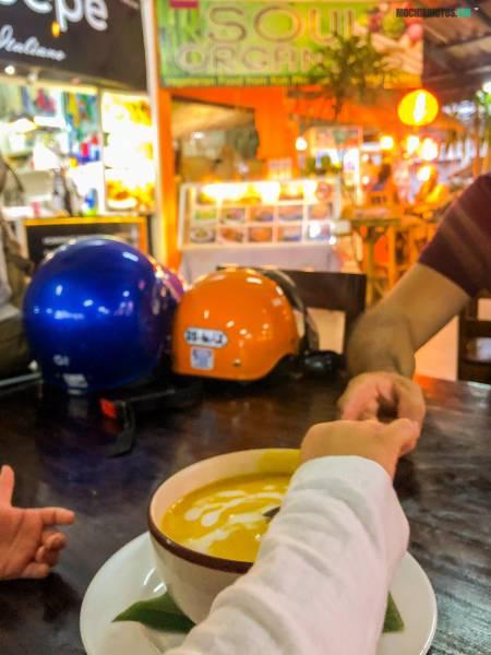 Restaurantes veganos en Koh Phangan