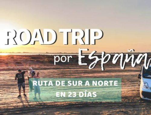 Ruta por España en carretera de sur a norte en 23 días