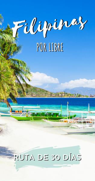 Ruta 30 dias Filipinas por libre