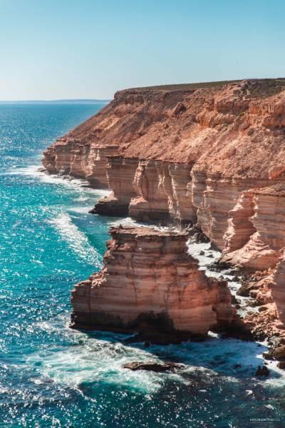 Ruta Costa Oeste Australia costa Kalbarri