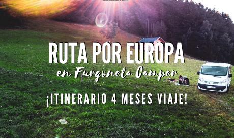 Ruta por Europa en furgoneta Camper . ¡Itinerario 4 meses viaje! www.mochiadictos.com