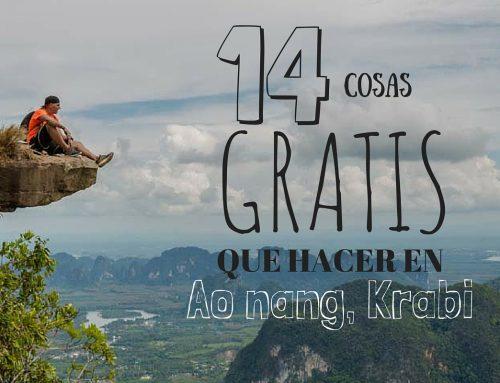 14 cosas GRATIS que hacer en AoNang, Krabi y alrededores.