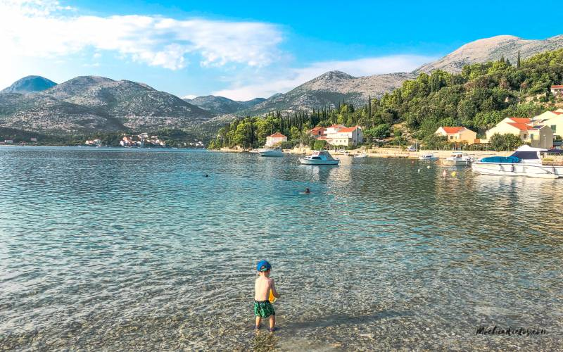 Viajar a Croacia con niños
