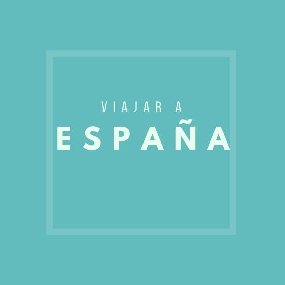 Viajar a España, Pinterest.