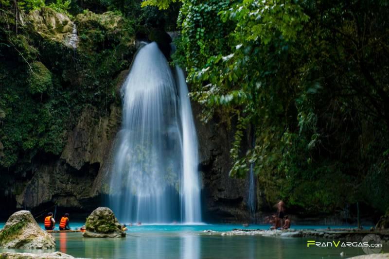 Viajar a Filipinas, Kawasan Falls
