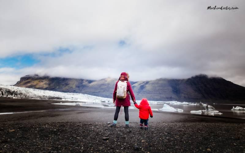 Islandia con bebé