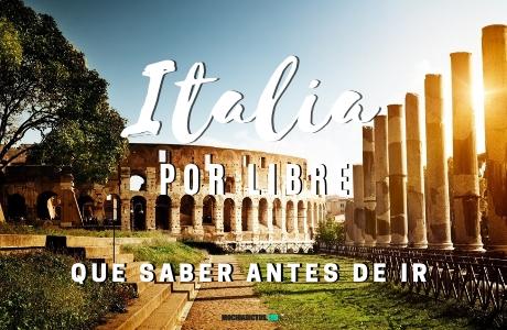 Viajar a Italia.