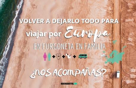Viajar por Europa en furgo en Familia