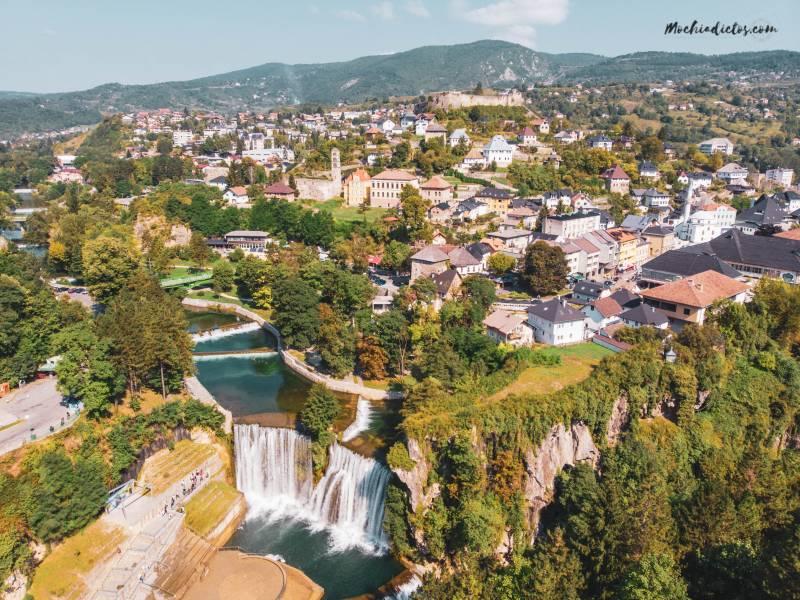 Visitar Jajce Bosnia desde Croacia