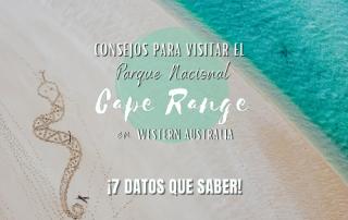 Visitar Parque Nacional Cape Range, consejos