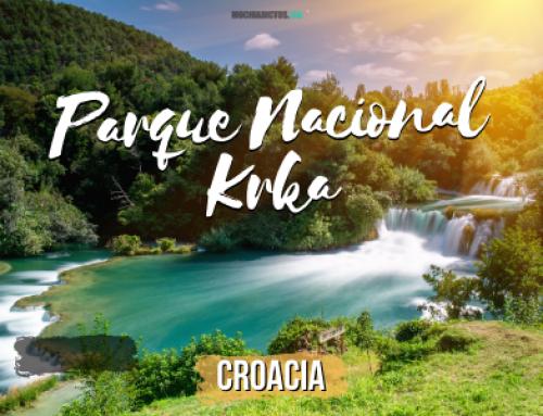 Parque Nacional Krka Croacia [Consejos y porqué decidí NO entrar a visitarlo]