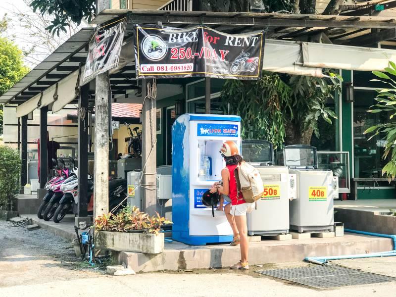 agua en Tailandia