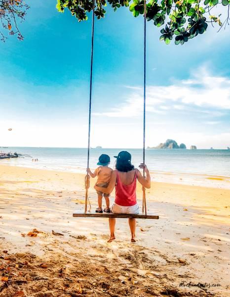 ao nang krabi con niños