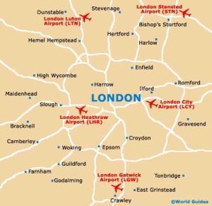 Como Llegar A Londres Desde Los Aeropuertos De Stansted Luton O
