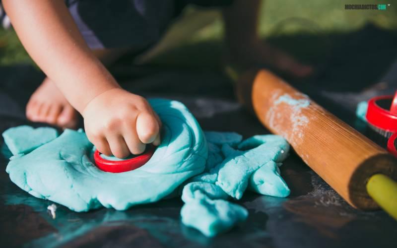 como hacer plastilina en casa