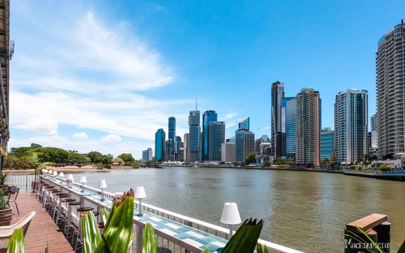 donde alojarse en Brisbane