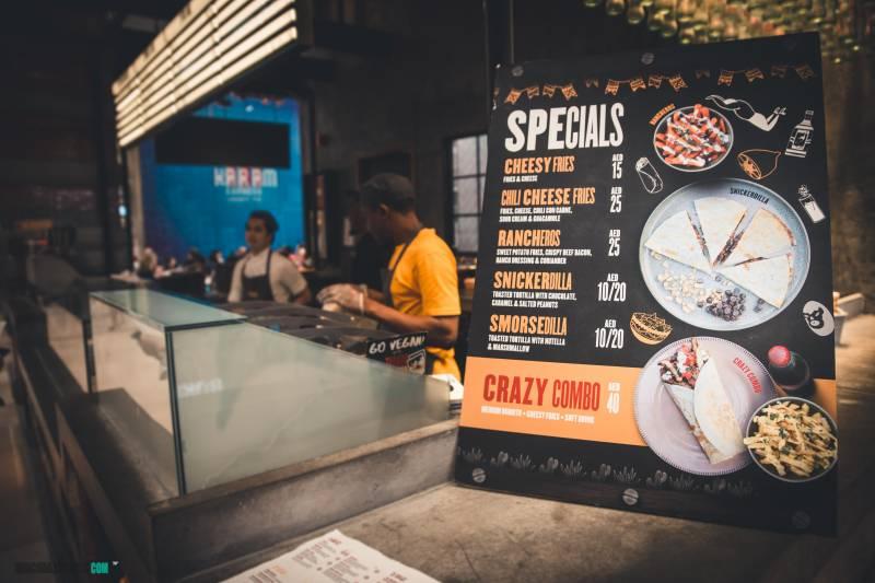 donde comer en Dubai con niños