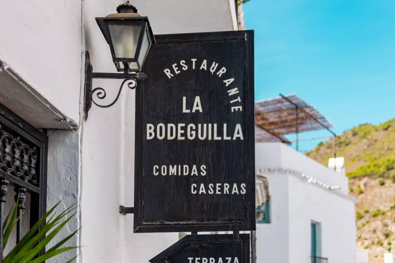 dónde comer en Frigiliana