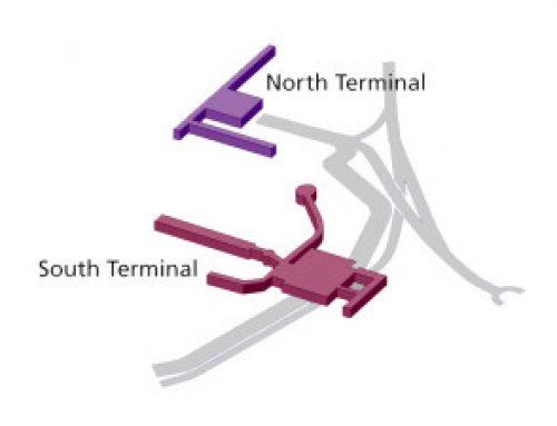 Desde que terminal sale mi avion en Gatwick