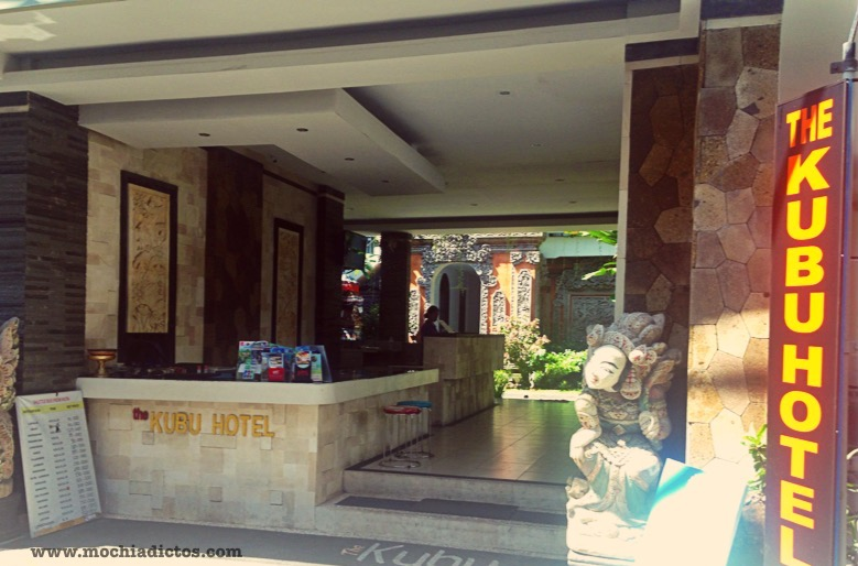 Hotel Kubu en Kuta