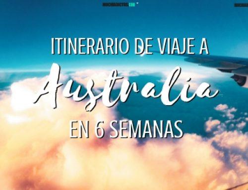 Itinerario de viaje a Australia en un mes y medio (6 semanas)