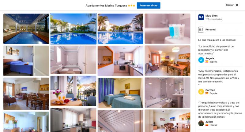 mejores apartamentos en Nerja