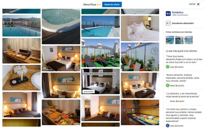 mejores hoteles en Nerja